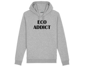 atrend organic sudadera algodon organico hoodie unisex