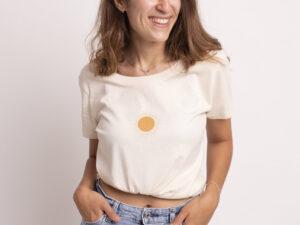 camiseta algodon organico Atrend