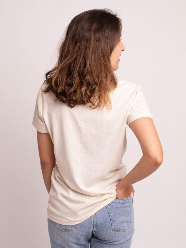 camiseta algodon orgánico parte trasera